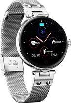 SmartWatch-Trends RS6 - Smartwatch - Thermometer - Hartslagmeter - Dames Watch - Zilverkleurig