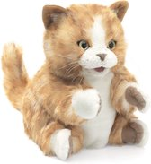 Folkmanis -Oranje Tabby Kitten