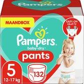 Pampers Baby-Dry Pants Luierbroekjes - Maat 5 (12-