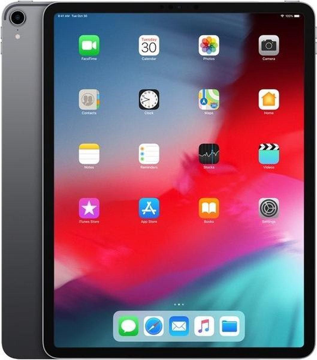 "Apple iPad Pro 12,9"" 2018 256GB WiFi + 4G Zwart - Refurbished door Daans Magazijn - A+ grade"