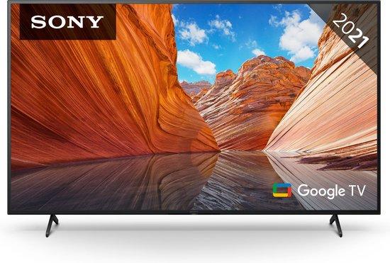 Sony BRAVIA KD55X80J - 55-inch TV - 4K Ultra HD - Google Smart TV