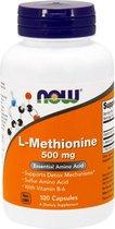 L-Methionine, 500mg - 100 capsules