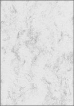Designpapier Sigel A4 90grs - marmer grijs pak 100 vel