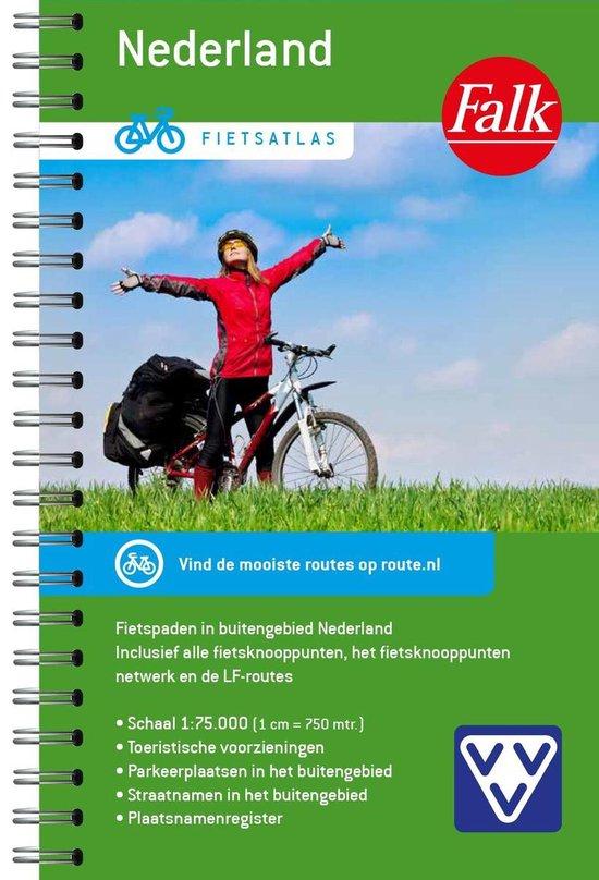 Boek cover Falk VVV Fietsatlas Nederland van  (Paperback)