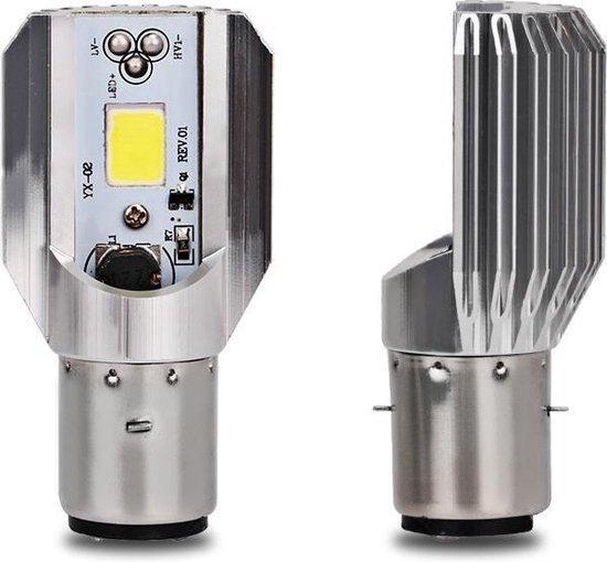 H6 LED Lamp - LED Verlichting - Koplamp/Mistlamp - Auto/Scooter/Motor - BA20D - 12V - 4.2 Watt - 100