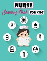 Nurse Coloring Book For Kids