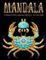 Adult Coloring Book Mandala Animals