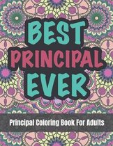 Principal Coloring Book For Adults
