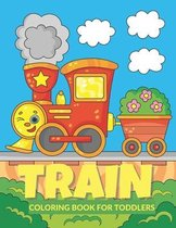 Train Coloring Book for Toddlers