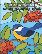 Color By Number Adult Coloring Book: An Adult Coloring Book with Fun, Easy, and Relaxing Coloring Pages