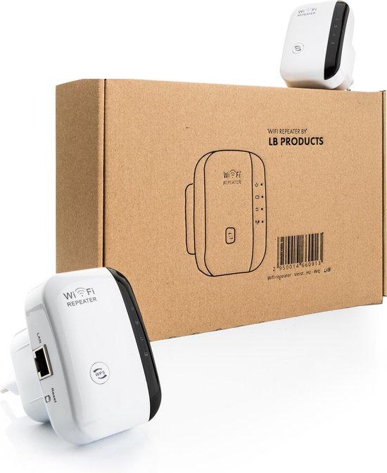 Wifi repeater - Versterker - Signaal versterker - Duo pack 2 stuks draadloos internet 300 MBPs - 2.4 GHz - Wit