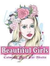 Beautiful Girls Coloring Book For Adults