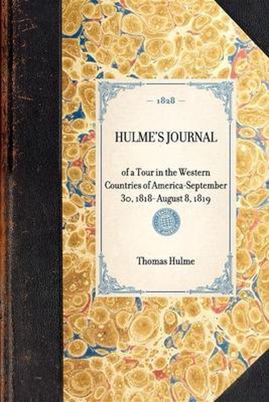 Boek cover Hulmes Journal van Thomas Hulme (Paperback)