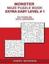 Monster Maze Puzzle Book