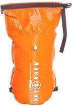 Aqua Lung Sport Towable Dry Bag - Zwemboei - 15L - Oranje