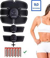 Zeitveldsales® - Buikspiertrainer - afvallen - INCLUSIEF GRATIS BATTERIJEN - 2020 - Fitness - Ab trainer - ems - Sixpack