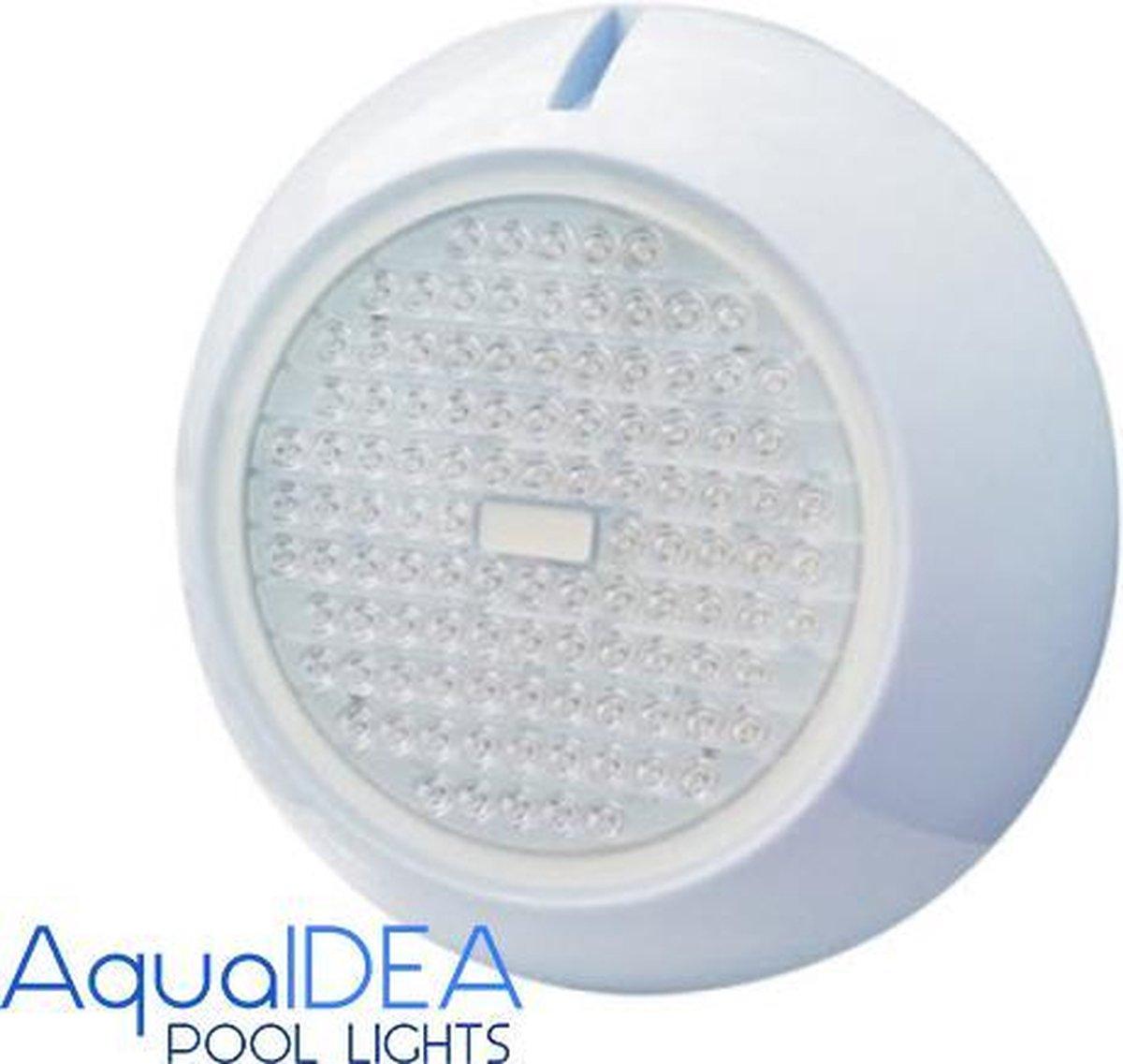 AquaIDEA - Swimming POOL LED Light - WARMWHITE - Type P120 20 Watt 108 SMD LEDs - AC/DC12V- IP68