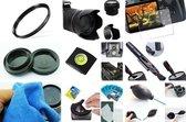10 in 1 accessories kit voor Canon EOS 1300D + 18-55mm IS II