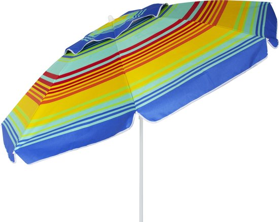 Eurotrail Strand Parasol - met stormdak - UPF 50+
