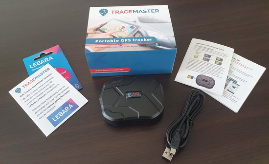 Tracemaster Auto volgsysteem GPS Tracker - Magneet - Gratis App - Krachtige accu