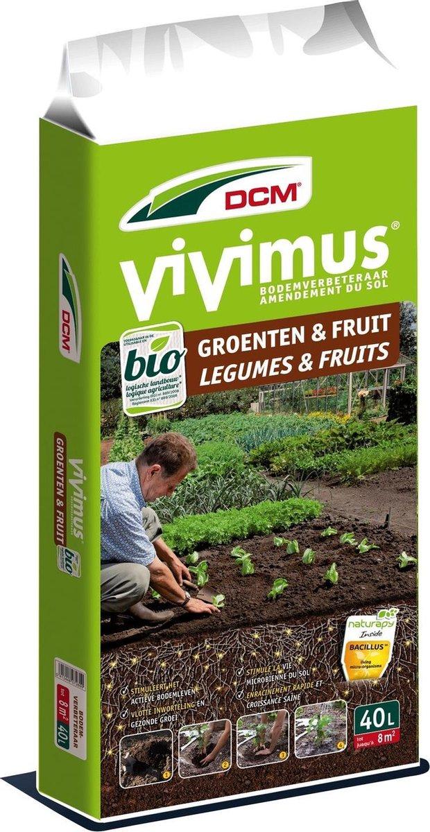DCM vivimus groenten en fruit 40L