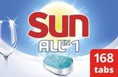 Bol.com-Sun All-in-1 Normaal Vaatwastabletten - 7 x 24 stuks - Voordeelverpakking-aanbieding