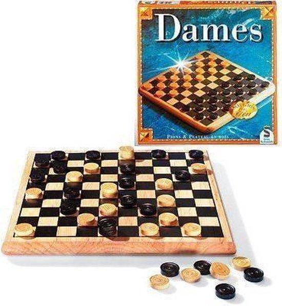 Afbeelding van het spel SCHMIDT EN SPIELE Bordspel - Dames houttraditie