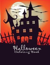 Halloween Coloring Book: Halloween books for kids 3-5