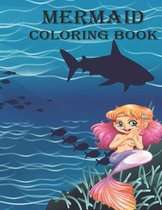 Mermaid Coloring Book: Coloring Books for Kids Age 4-8