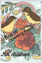 Horse coloring book for children: Horse coloring book for children size 6 * 9 * 26 pages