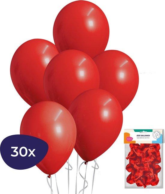 Rode Ballonnen – Helium Ballonnen – Verjaardag Versiering – Valentijn Decoratie – 30 stuks
