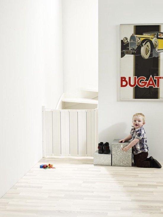 Babydan Harmonica Guard Me Veiligheidshekje - 64,5 t/m 89 cm - Wit