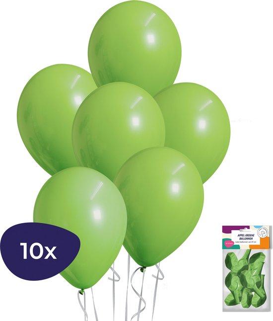 Groene Ballonnen - 10 stuks - Helium Ballonnen - Jungle Decoratie