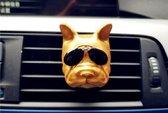 Geurhouder Franse Bulldog Goud
