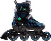 Coolslide Wonton Inline Inlineskates - Maat 37-40 - UnisexKinderen en volwassenen - zwart/donker blauw