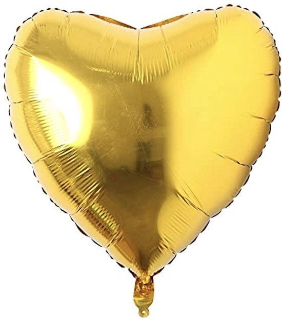 Hartballon / Folie ballon Hart - Goud - XXL 75cm