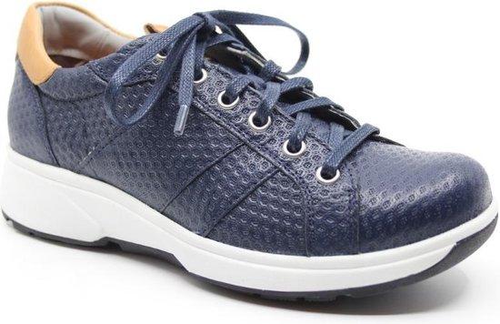 Xsensible Stretchwalker Toulouse lage blauwe sneaker maat 43