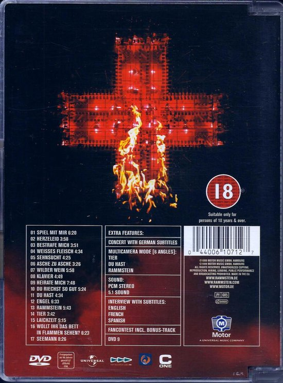 Rammstein - Live aus Berlin - Rammstein