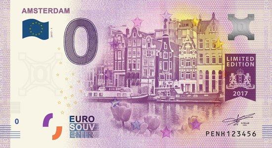 Afbeelding van het spel 0 Euro Biljet Nederland 2017 - Amsterdam