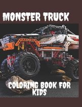 Monster truck coloring book for kids: toddlers Coloring Book with Monster Trucks & Fun Children's Coloring Book for kids ages 2-6