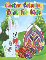 Easter coloring book for kids: Easter Things and Other Cute Stuff Coloring book for kids unique easter egg for kids, Toddlers & Preschool, boys and g