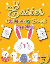 Easter Coloring Book for Kids Ages 2-5: An Awesome Coloring Book for Fun to Color and Cut Out! A Great Toddler and Preschool