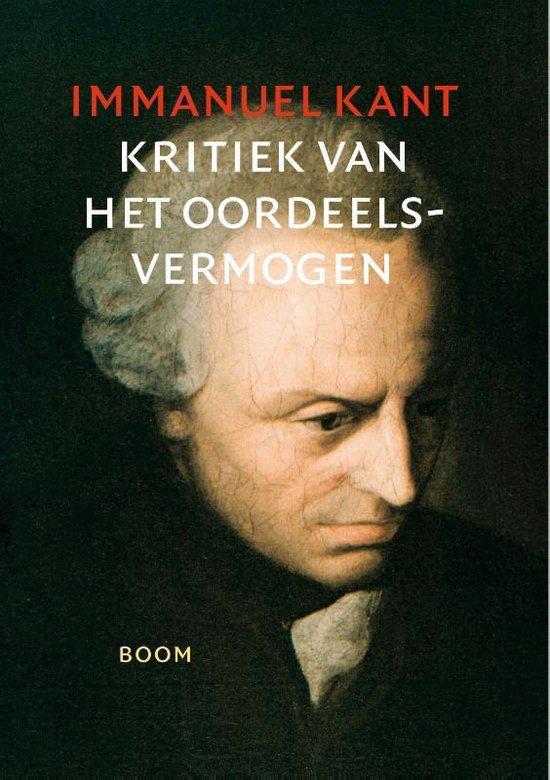 Boek cover Kritiek van het oordeelsvermogen van Immanuel Kant (Paperback)