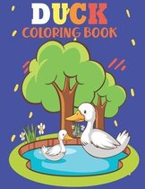 Duck Coloring Book: Coloring Pages Gift For Kids