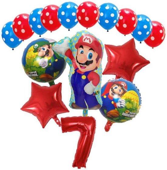 Super Mario - ballon set - thema - ballonnen - 7 jaar