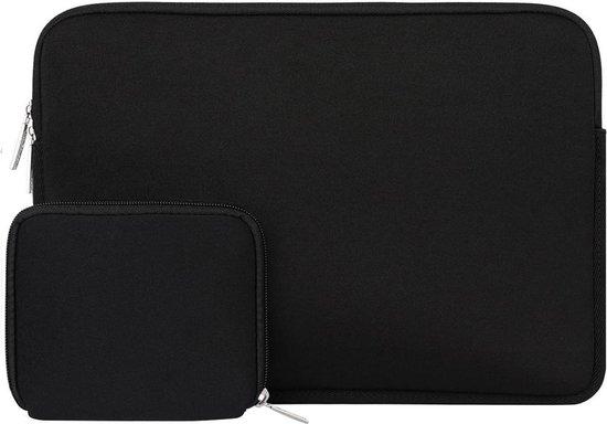 Laptop sleeve 13 inch + Etui (13.3 laptophoes) zwart van ZEDAR®
