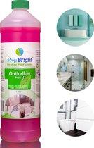 ProfiBright Consument  - Ontkalker Profi3 - Kalkverwijderaar - Kalk weg - Kalk aanslag verwijderaar - Concentraat - Dierproefvrij - 1 liter
