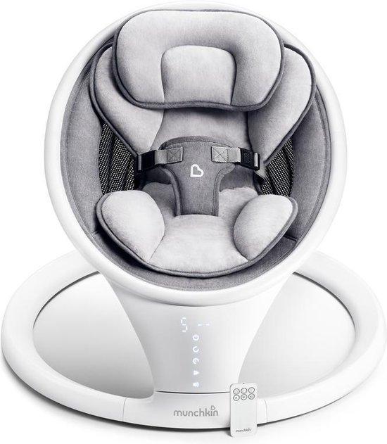 BabySwing - BabySchommel - Wipstoel Munchkin - Grijs
