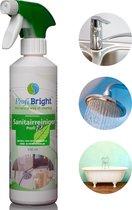 ProfiBright Consument - Sanitairreiniger Profi12 kant & klaar - Badkamerreiniger - Fris van geur - Dierproefvrij - 500 ml