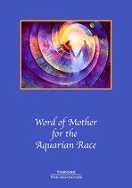 Word of Mother for the Aquarian Race, Volume 1 - spiritueel Engelstalig boek - Watermantijdperk - Ascending Masters